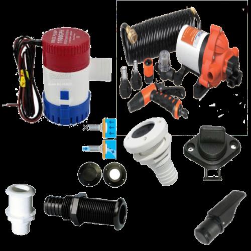 Vandens tiekimo sistemos / drenavimo įranga