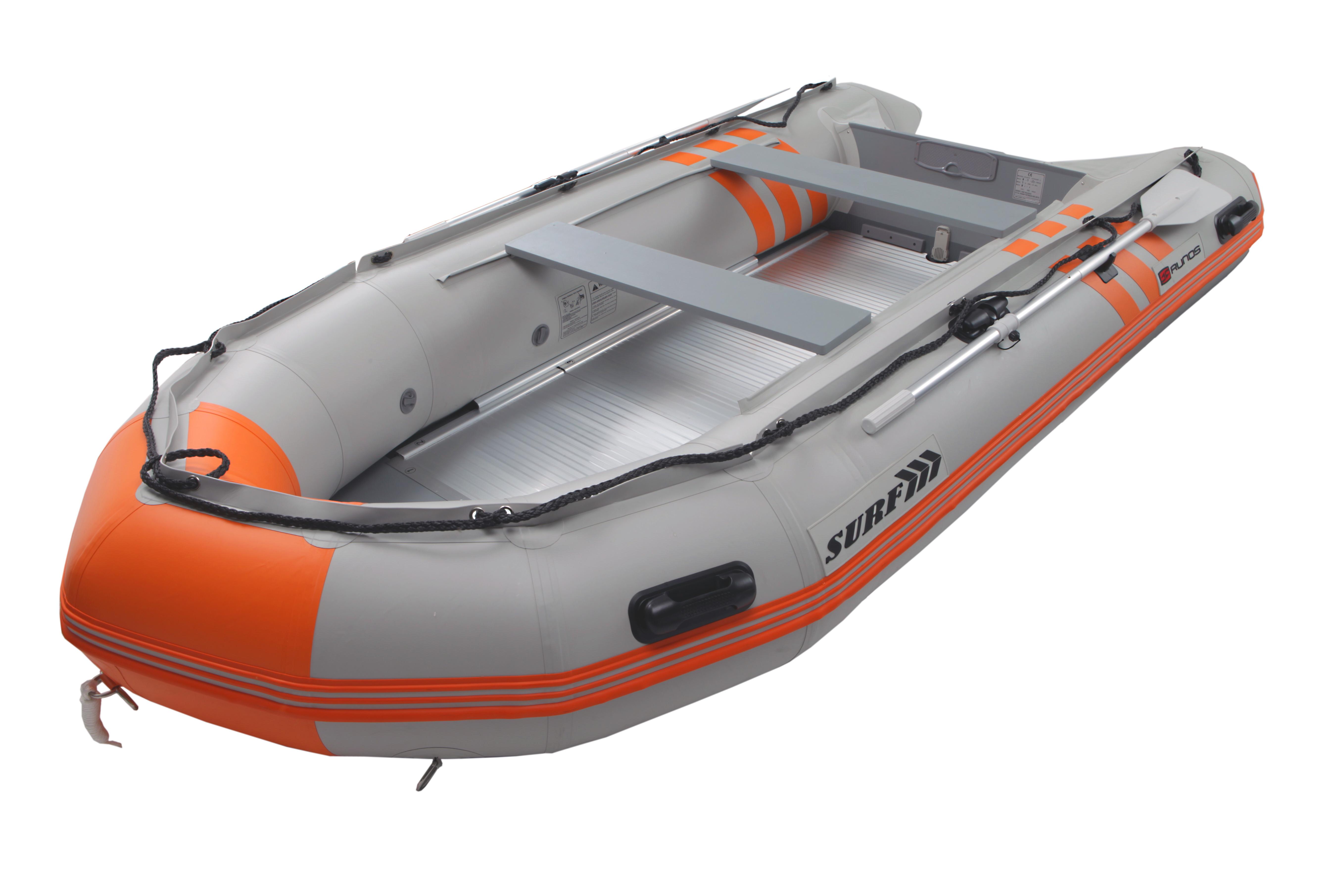 Valtis RUNOS RY-B370K Surf su aliuminio grindimis.