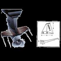 Hidrofoilai pakabinamiems varikliams iki 50 AG