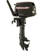 Pakabinamas variklis Mercury 5 AG