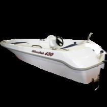 Kateriai, motorinės valtys - Astra 430 Silverfish