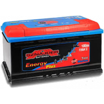 Akumuliatorius Sznajder Energy+ 100 Ah