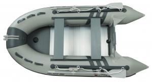 Valtis RUNOS RY-B370D Glide su aliuminio grindimis.